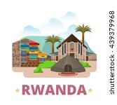 rwanda country design template. ... | Shutterstock .eps vector #439379968