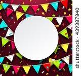 illustration party background... | Shutterstock .eps vector #439387840