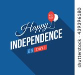 4th of july usa independence... | Shutterstock .eps vector #439396180