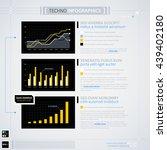 modern infographics template.... | Shutterstock .eps vector #439402180