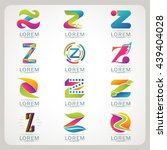 logo letter z element and... | Shutterstock .eps vector #439404028