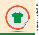 t shirt icon  vector...