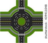 road infographics. road... | Shutterstock .eps vector #439411048
