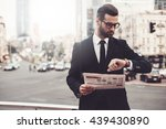 i should be there in time.... | Shutterstock . vector #439430890