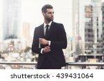 Modern Businessman. Confident...