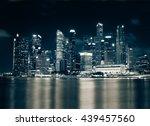 the cityscape architecture... | Shutterstock . vector #439457560