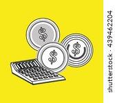 money design. financial item... | Shutterstock .eps vector #439462204