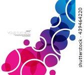 modern circles layout design... | Shutterstock .eps vector #439464220