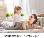 happy loving family. mother and ... | Shutterstock . vector #439512514