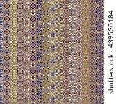 ethnic boho seamless pattern.... | Shutterstock .eps vector #439530184