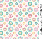vector seamless pattern with... | Shutterstock .eps vector #439537948
