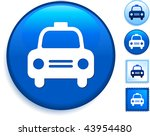 taxi cab icon on internet... | Shutterstock .eps vector #43954480
