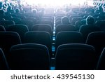 cinema or theater in the... | Shutterstock . vector #439545130