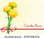 floral background design with... | Shutterstock .eps vector #439548376