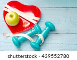 fit and health abstract concept ... | Shutterstock . vector #439552780
