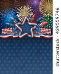 patriotic american background... | Shutterstock .eps vector #439559746