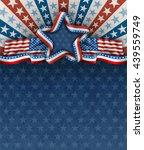 patriotic american background... | Shutterstock .eps vector #439559749