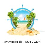 ������, ������: Wonderful tropical landscape with
