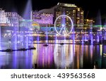 Light And Water Fountains Show...