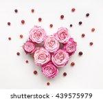 Heart Symbol Made Of Bright...
