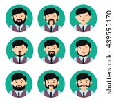 people flat icons collection | Shutterstock .eps vector #439595170