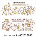 vector creative concept... | Shutterstock .eps vector #439597840