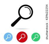loupe | Shutterstock .eps vector #439622254
