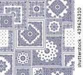 bandanna pattern design | Shutterstock .eps vector #439626310