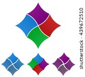 square logo vector design...