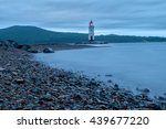 lighthouse in the vladivostok ... | Shutterstock . vector #439677220