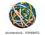 rubberband sphere | Shutterstock . vector #43968451