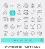 premium quality kitchen and... | Shutterstock .eps vector #439694338
