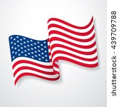 flag of the united states | Shutterstock .eps vector #439709788