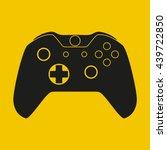 gamepad icon   Shutterstock .eps vector #439722850