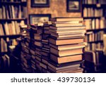 used books in the bookstore | Shutterstock . vector #439730134