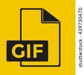 gif icon | Shutterstock .eps vector #439730470