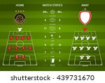 football or soccer match... | Shutterstock .eps vector #439731670
