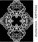 flower background   Shutterstock .eps vector #43974316