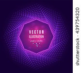 purple fuschia violet abstract... | Shutterstock .eps vector #439754320