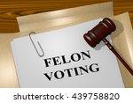 "3d illustration of ""felon..."
