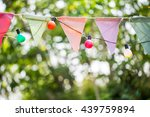 christmas lights for a party... | Shutterstock . vector #439759894