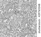 cartoon cute doodles hand drawn ... | Shutterstock .eps vector #439765348