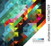 stylish colorful background... | Shutterstock .eps vector #439766719