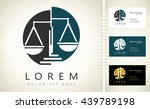 scale of justice logo | Shutterstock .eps vector #439789198
