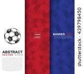 abstract flag colour banner ... | Shutterstock .eps vector #439798450