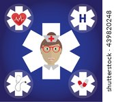 set of medical icons. medical... | Shutterstock .eps vector #439820248