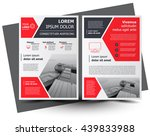 flyer brochure design  business ... | Shutterstock .eps vector #439833988