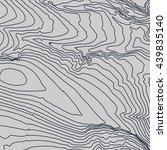 topographic map background... | Shutterstock .eps vector #439835140