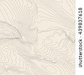 topographic map background... | Shutterstock .eps vector #439837618