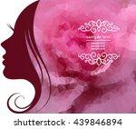 vector stylish banner  poster... | Shutterstock .eps vector #439846894